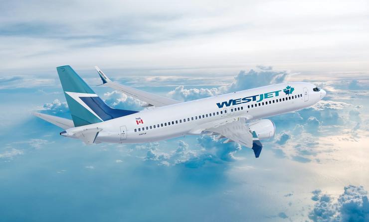 WestJet Boeing 737 MAX