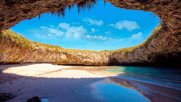 Hidden Beach, Marietas Islands, Riviera Nayarit