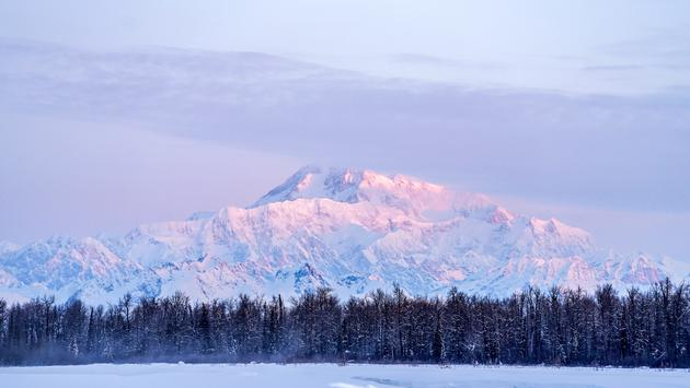 Denali at sunrise, Talkeetna, Alaska