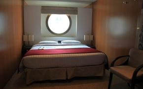 Cruise ship, cabin, cruise cabin, ship interior