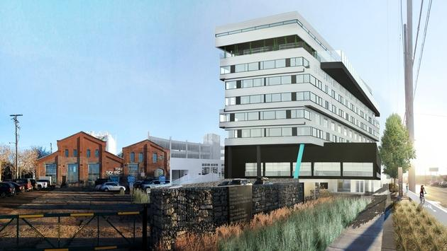 Rendering of The Source Hotel