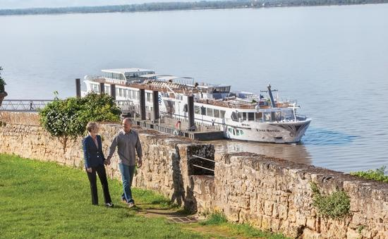 River Royale in Blaye, France