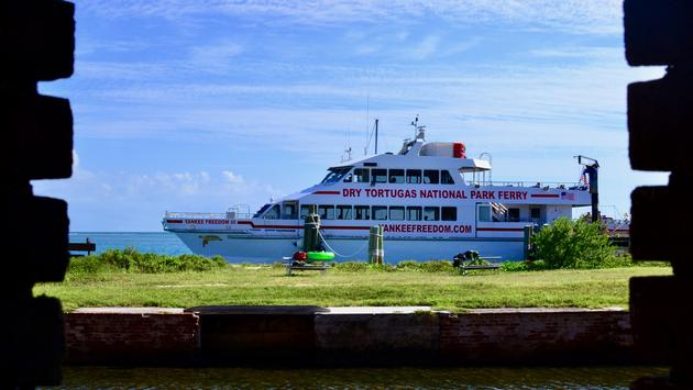 Yankee Freedom III Ferry to Dry Tortugas National Park