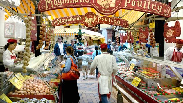 Cork City's iconic English Market