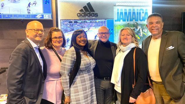 Jamaica Tourist Board at Maple Leafs Game