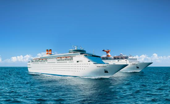 The Grand Classica and Grand Celebration, ships apart of the Bahamas Paradise Cruise Line fleet