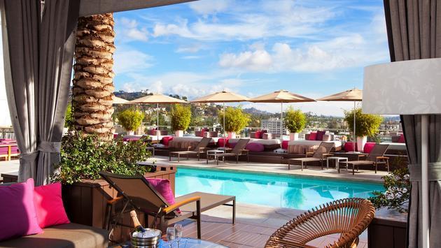W Hotel Hollywood, Cabana