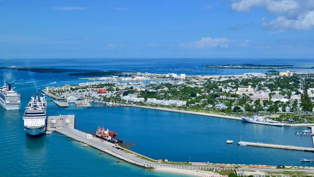 Aerial View of Key West
