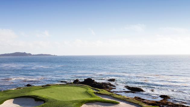 Pebble Beach golf course, Monterey, California, USA