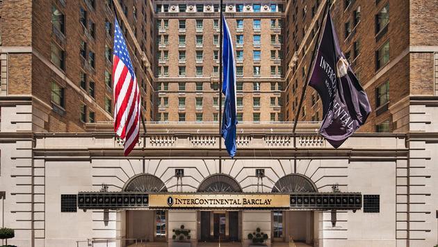 The InterContinental New York Barclay hotel.