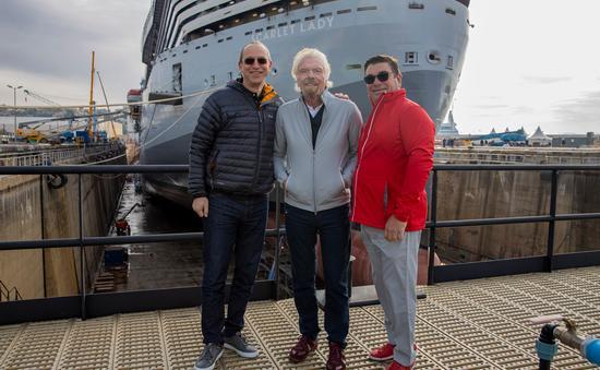 Virgin Voyages' Scarlet Lady sea trials