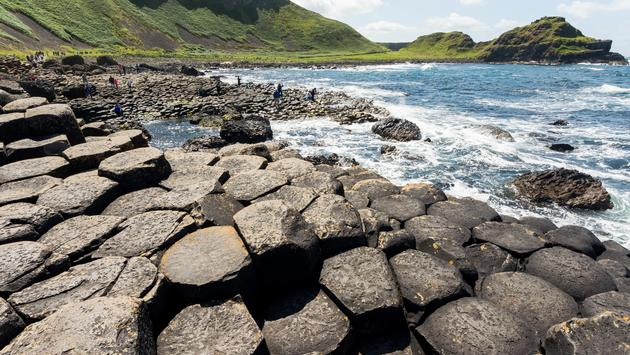 Landscapes of Ireland. Giant's Causeway, Northern Ireland
