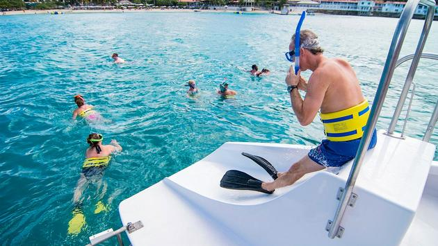 Island Routes Calipsoul catamaran water slide