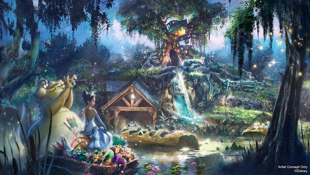 New Adventures with Princess Tiana Coming to Disneyland Park and Magic Kingdom Park