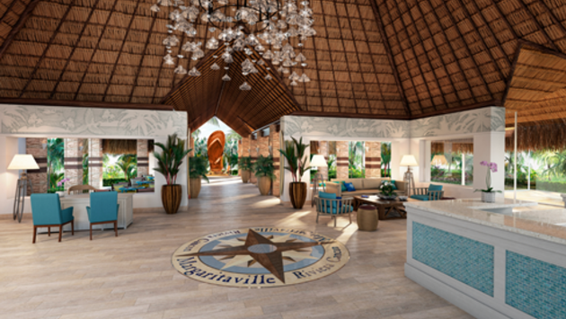 Lobby at Margaritaville Island Reserve by Karisma Riviera Cancun