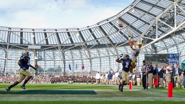 Navy vs Notre Dame in Dublin