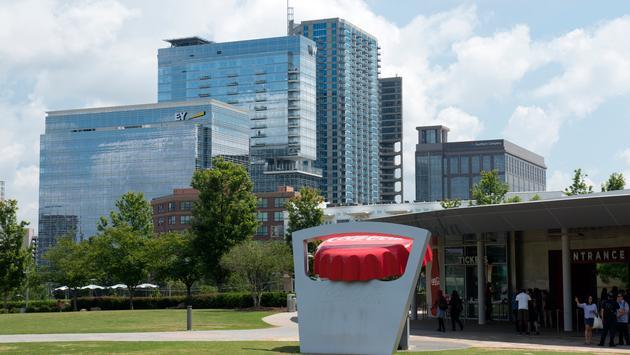 World of Coca-Cola at Pemberton Place in Atlanta, Georgia