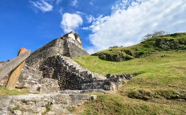 Xunantunich archaeological site of Mayan civilization in Belize