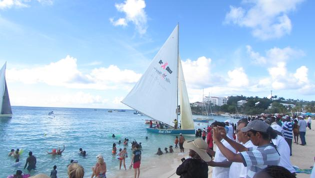 Travelers to Anguilla are again arriving by ferry. (Photo Courtesy of Brian Major)
