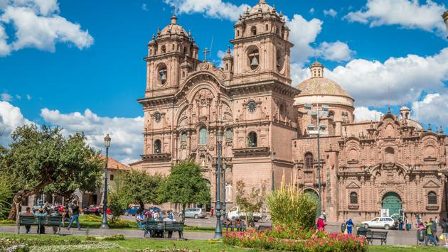 Church of the Society of Jesus in Cusco, Peru