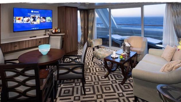 Azamara Pursuit Club World Owner's Suite