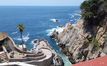 Acapulco cliffside