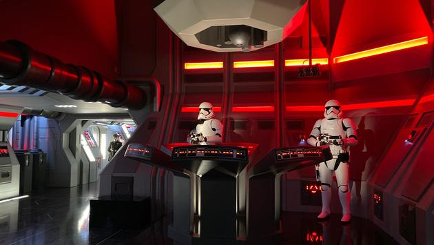 Stormtroopers take charge on Walt Disney World's Rise of the Resistance at Star Wars: Galaxy's Edge