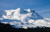 Avalanche, Alps, snow, mountain