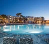 Palladium, hotels, pools, resort, hotel at night