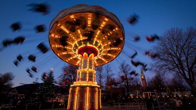 The Swing Carousel at Tivoli Gardens