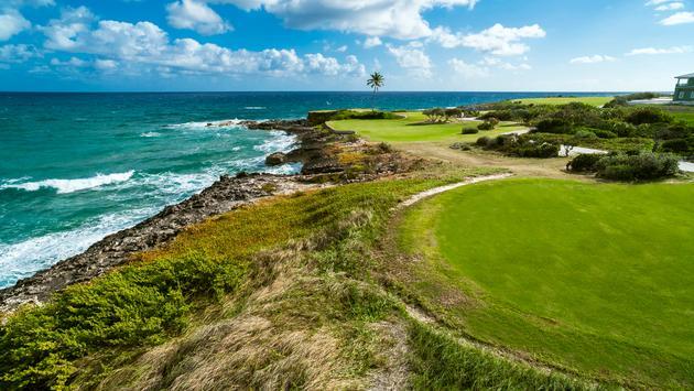 Sandals, golf course, Emerald Bay, hotel golf course