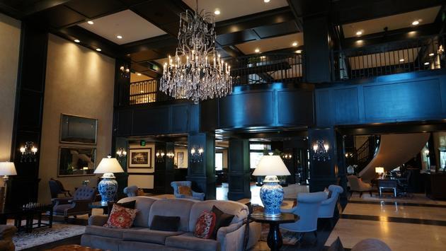 Lobby of Waldorf Astoria Park City