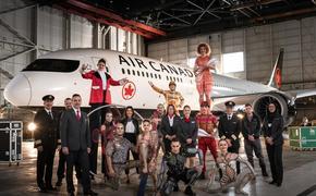 Air Canada et le Cirque du Soleil