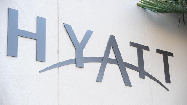 Hyatt hotel in San Jose, California.