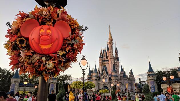 Halloween at Walt Disney World, Magic Kingdom