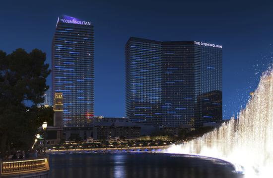 The Cosmopolitan of Las Vegas, exterior