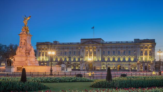 Buckingham Palace, London, England, UK