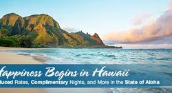 Happiness begins in Hawaii
