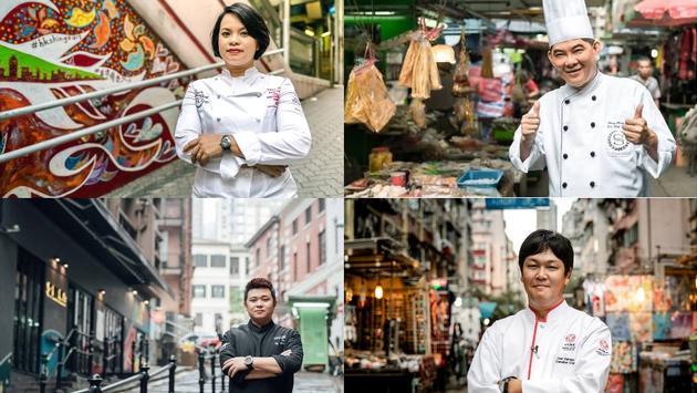 Hong Kong Wine & Dine Festival Chefs