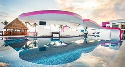 Temptation Cancun Resorts Boost Pool Bar