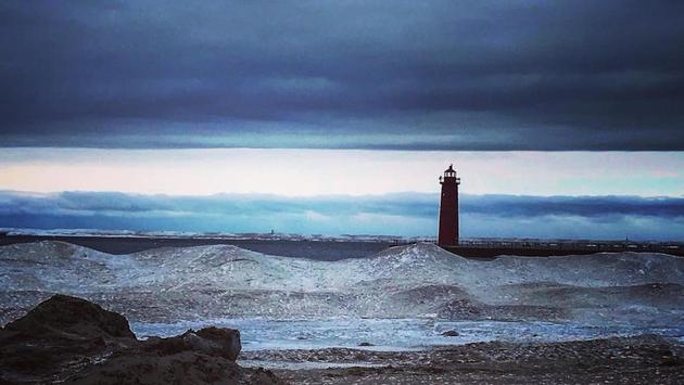 Lighthouse in Muskegon, MI