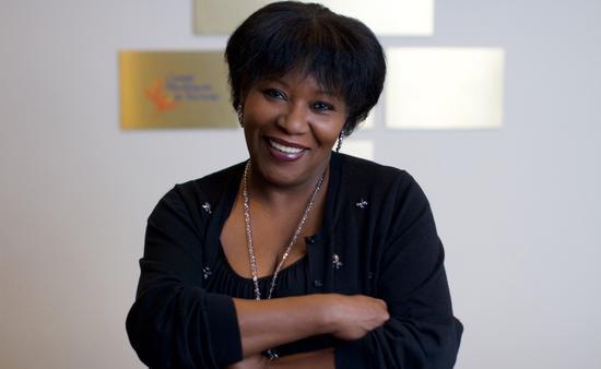 Muriel Wiltord of Martinique