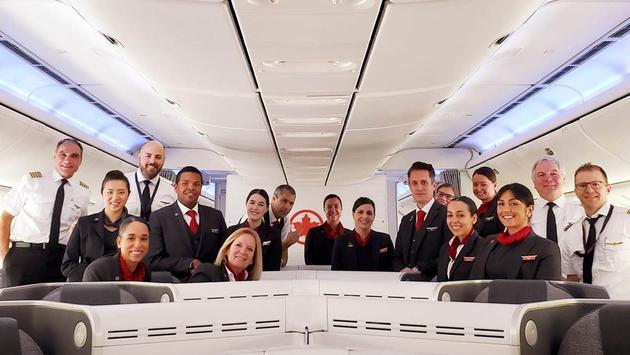Air Canada flight crew