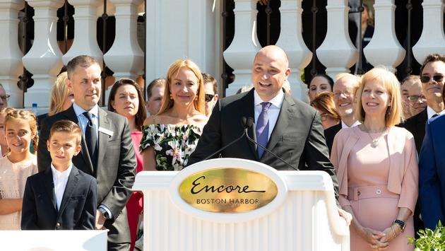 Encore Boston Harbor Grand Opening, CEO Matt Maddox