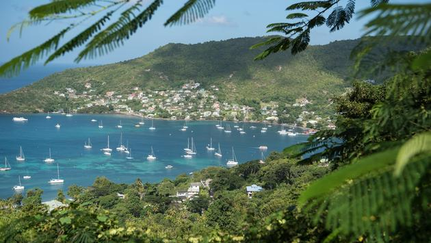 Bequia Island Bay Caribbean