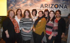 Délégation de Tourism Arizona à Montréal