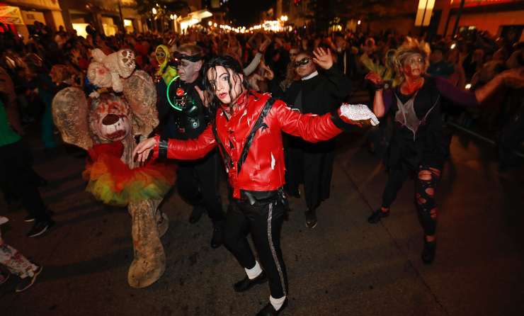 Thriller Halloween in Lexington, Kentucky