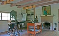 New Echota printshop, New Echota State Historic Site