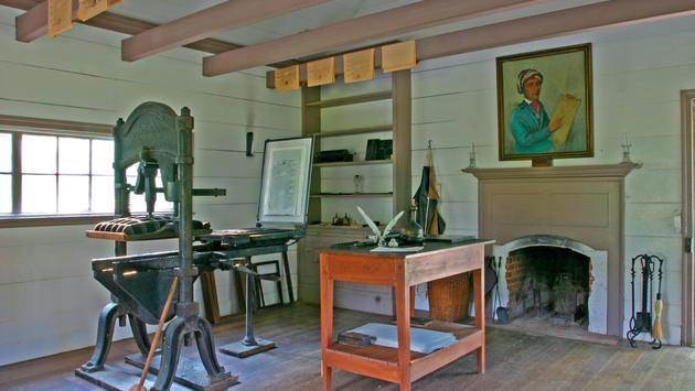 New Echota printshop, New Echota State Historic Site
