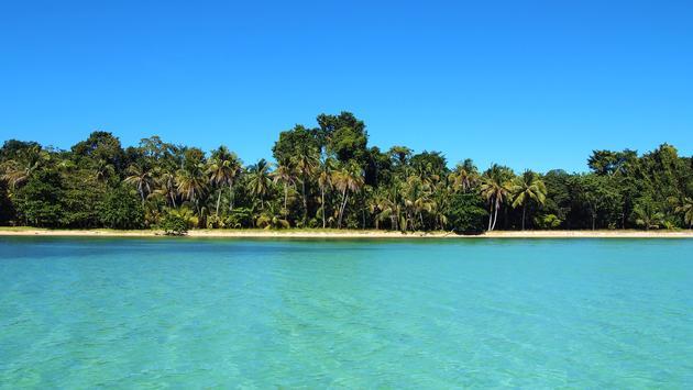 Tropical beach in Riviera Maya, Mexico